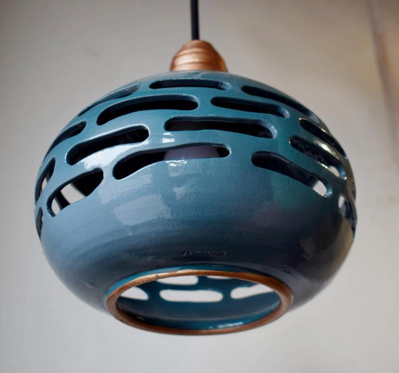 Керамический абажур