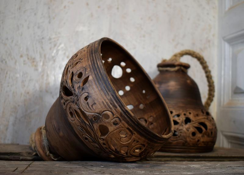 Абажур керамический