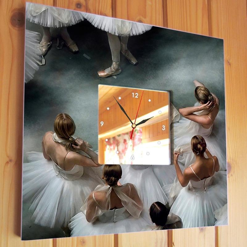 "Годинник з малюнком ""Балерини"""