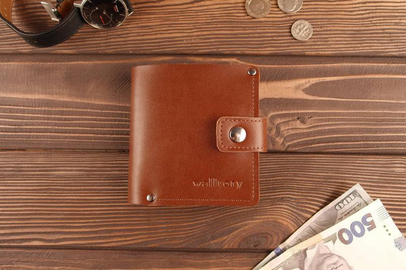 Кожаное портмоне кошелек натуральная кожа