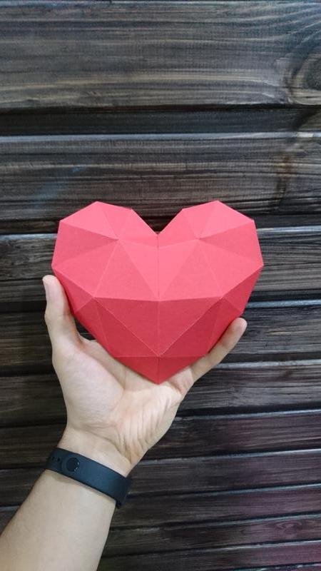 Полигональное сердце