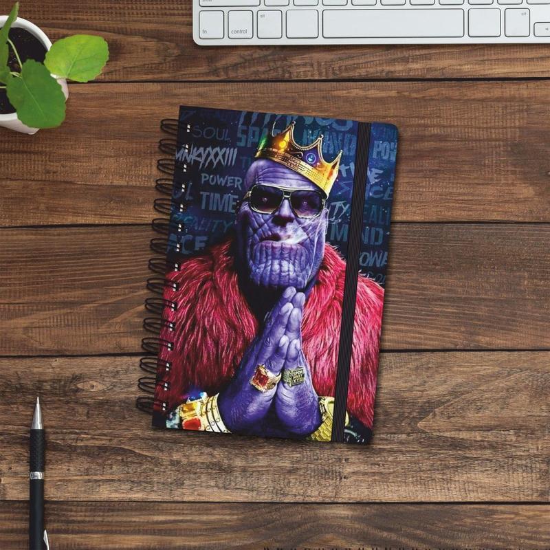 Скетчбук (блокнот) — Thanos