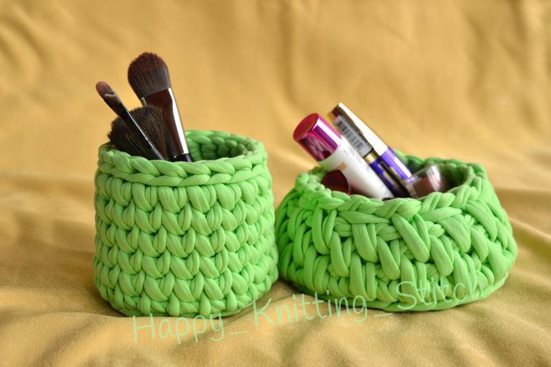 Набір корзинок для косметики