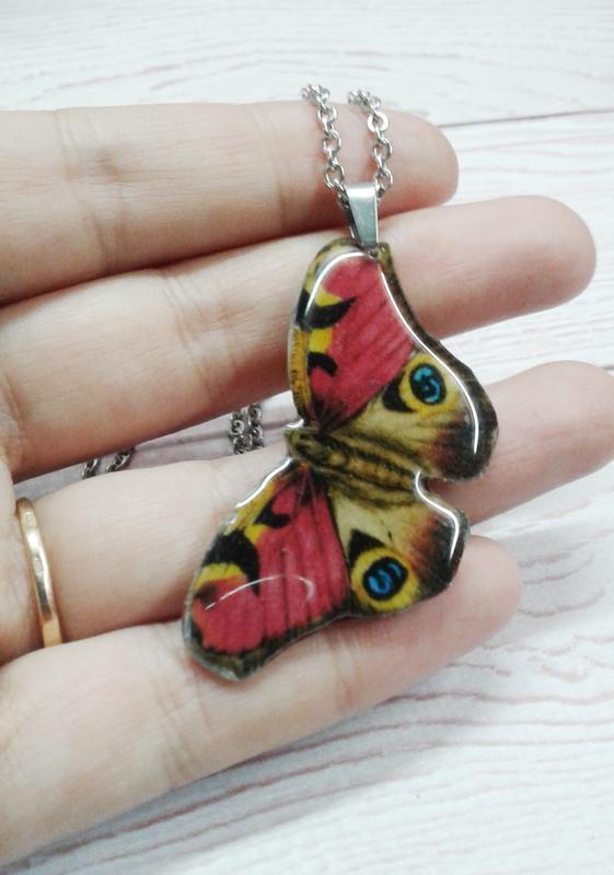 Кулон бабочка