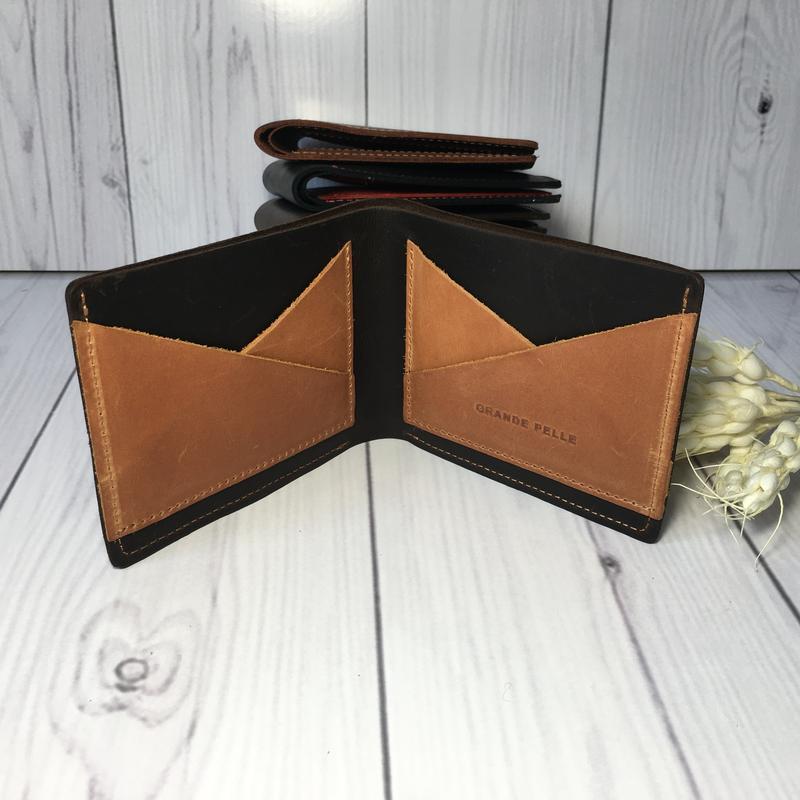 Компактное портмоне с отделом под карты