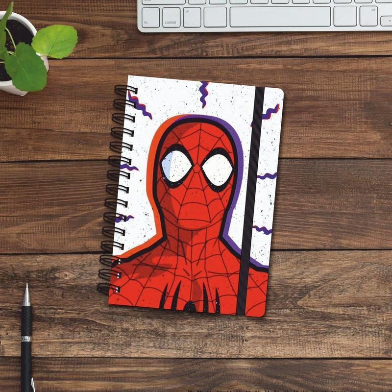 Скетчбук (блокнот) — Spider man