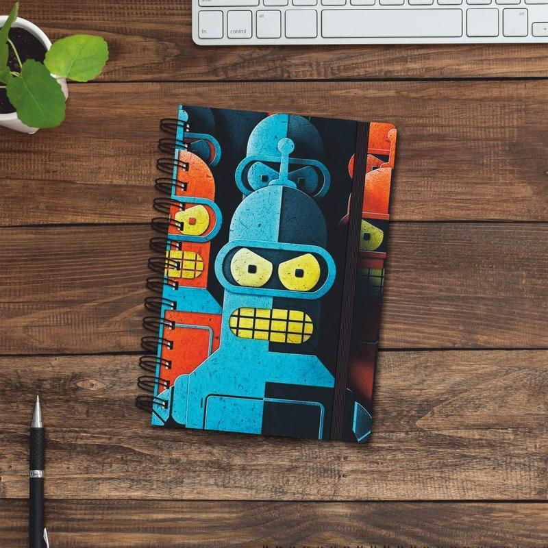 Скетчбук (блокнот) — Bender