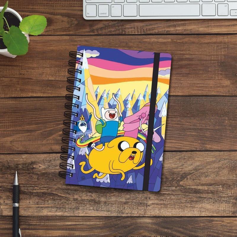 Скетчбук (блокнот) — Время приключений