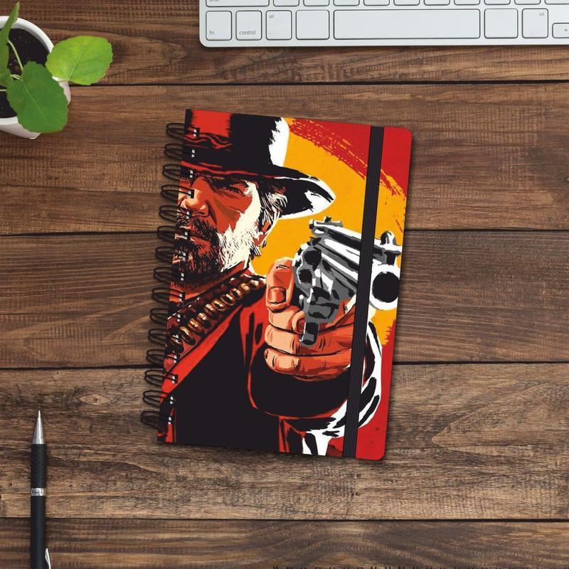 Скетчбук (блокнот) — Red Dead Redemption 2