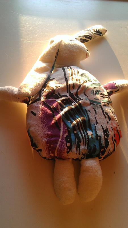 Грелка с вишнёвыми косточками тильда