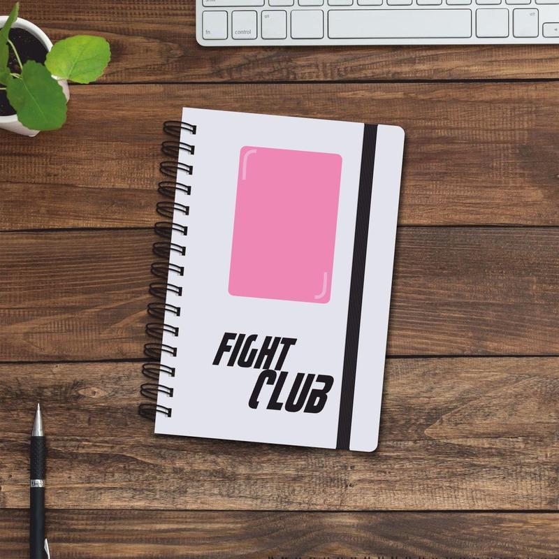 Скетчбук (блокнот) — Fight Club