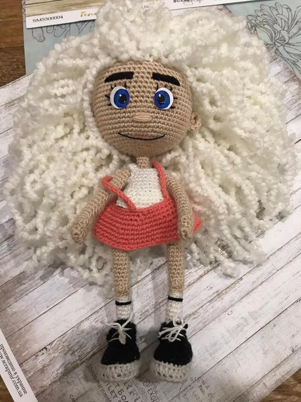 Кукла вязана крючком