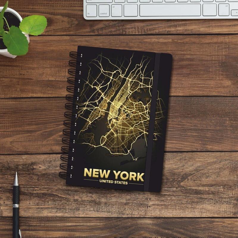 Скетчбук (блокнот) — New York