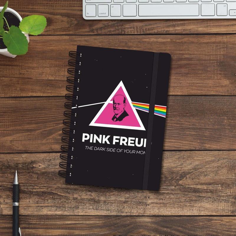 Скетчбук (блокнот) — Pink Freud