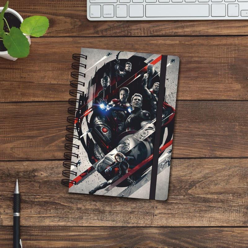 Скетчбук (блокнот) — Marvel all