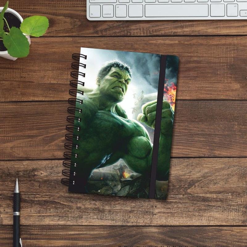 Скетчбук (блокнот) — Hulk