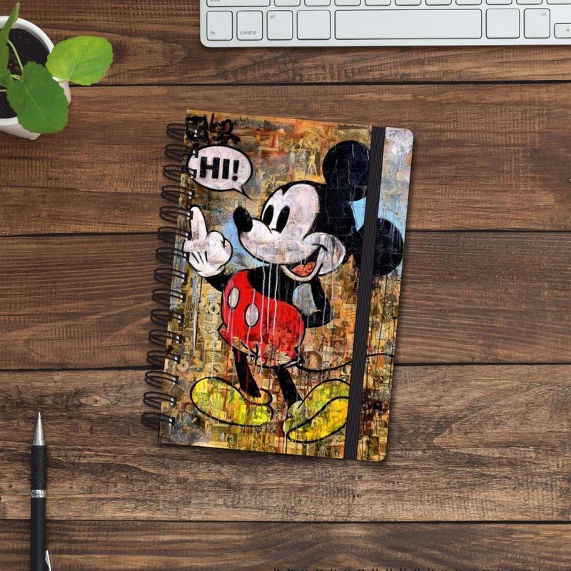 Скетчбук (блокнот) — Mickey Mouse