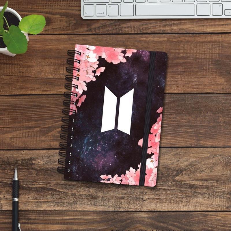 Скетчбук (блокнот) — BTS 2