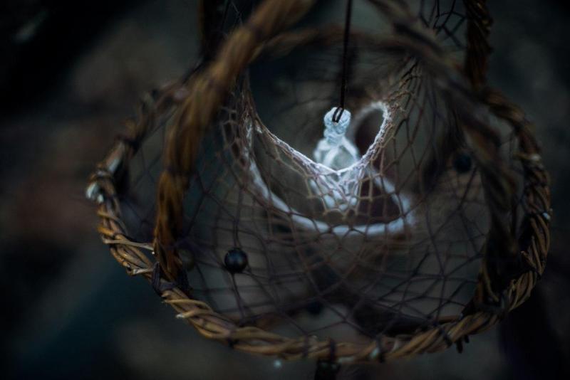 """Объемный ловец снов 3D """"Ведьмины Сны"""""""