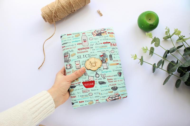 Блокнот для записи кулинарных рецептов