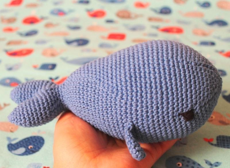 Хлопковые погремушки-киты
