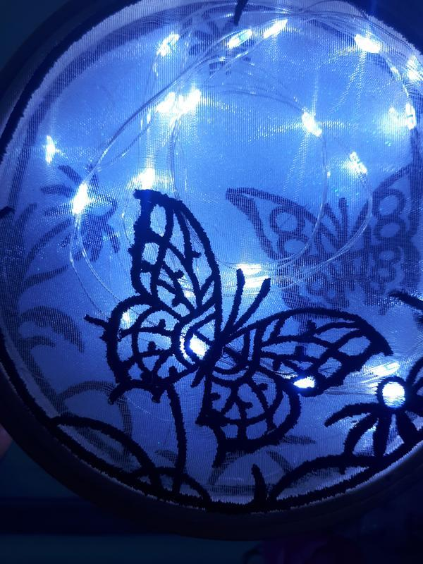 """Декоративный светильник """"Ночной сад"""""""