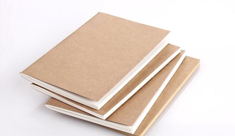 Крафтовый блокнот книжечкой