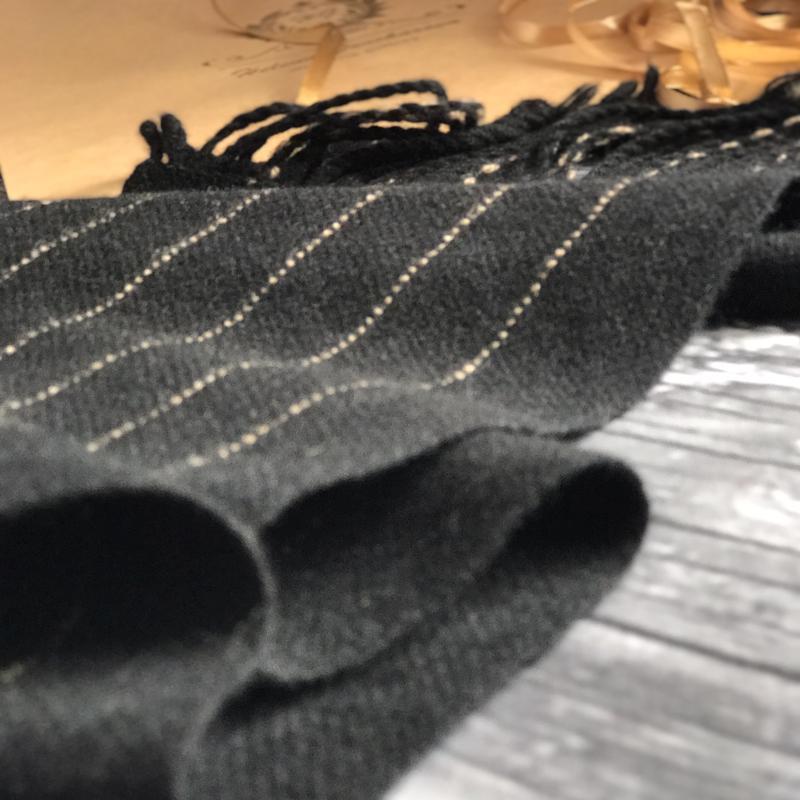 Классический мужской тканый шарф