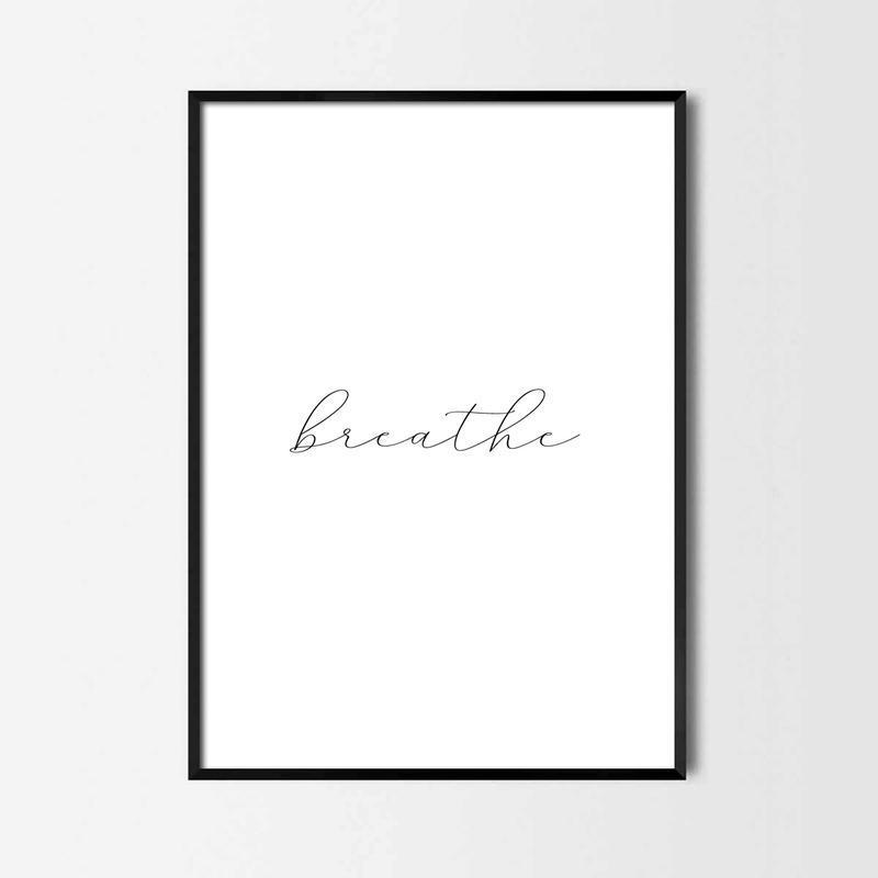 Постер breathe