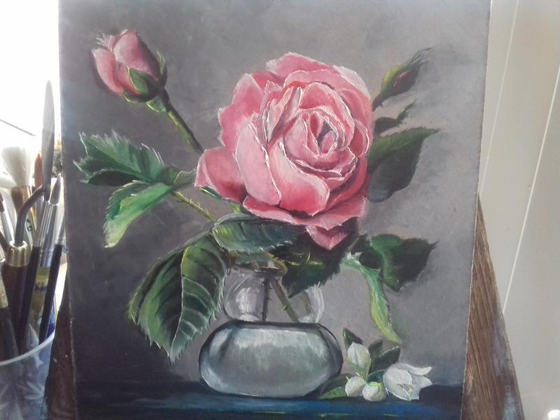 Картина Троянда