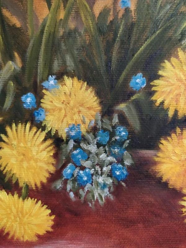 Натюрморт полевые цветы