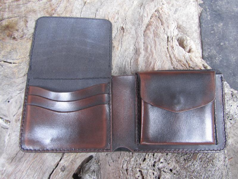 визитница,кошелек-визитница,мужской кожаный кошелек - визитница,подарок парню отцу брату