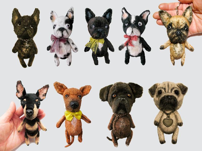 Персонализированный брелок собаки  по фото.