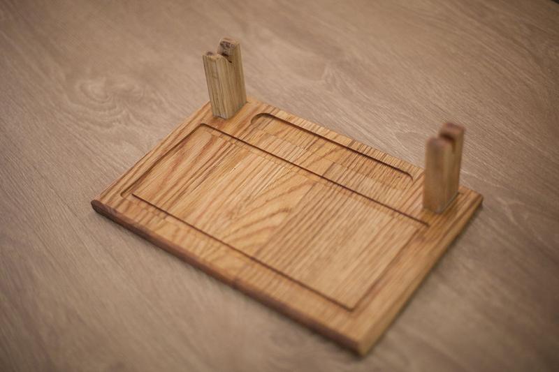Доска для подачи шашлыка 30х20 см