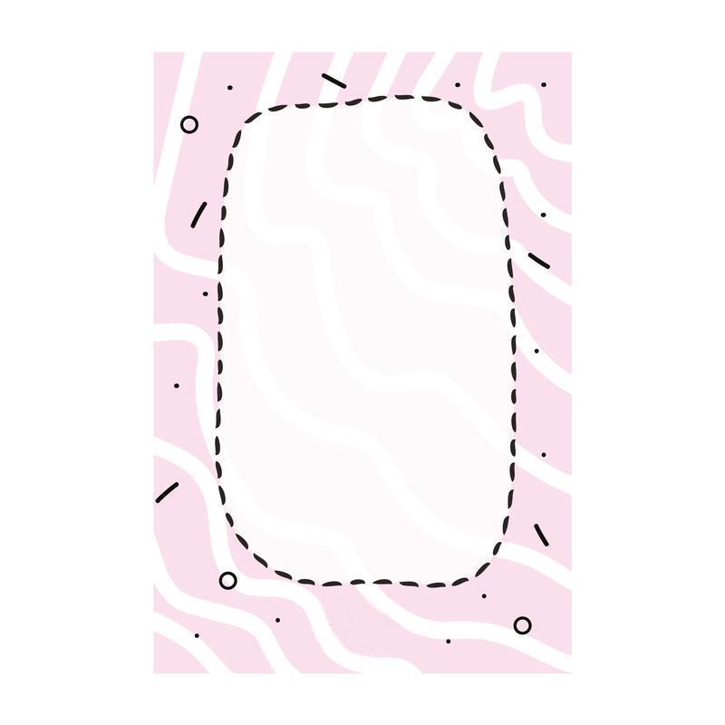 Открытка Ты баба бомба розовый
