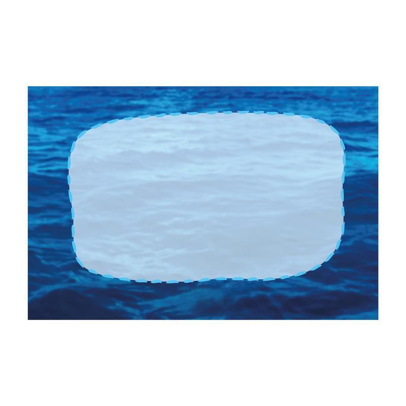 Открытка Пусть в жизни будет море... синий
