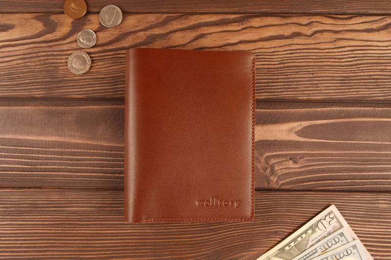 Портмоне для паспорта документов натуральная кожа