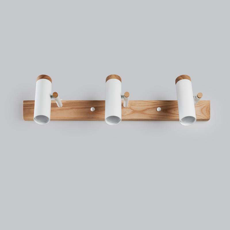 светильник настенный потолочный в стиле лофт для ванной, кухни