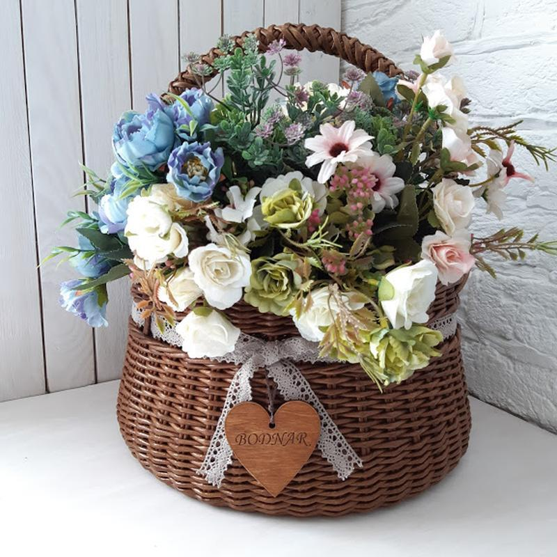 пара, картинки плетеных корзин с цветами холода, это