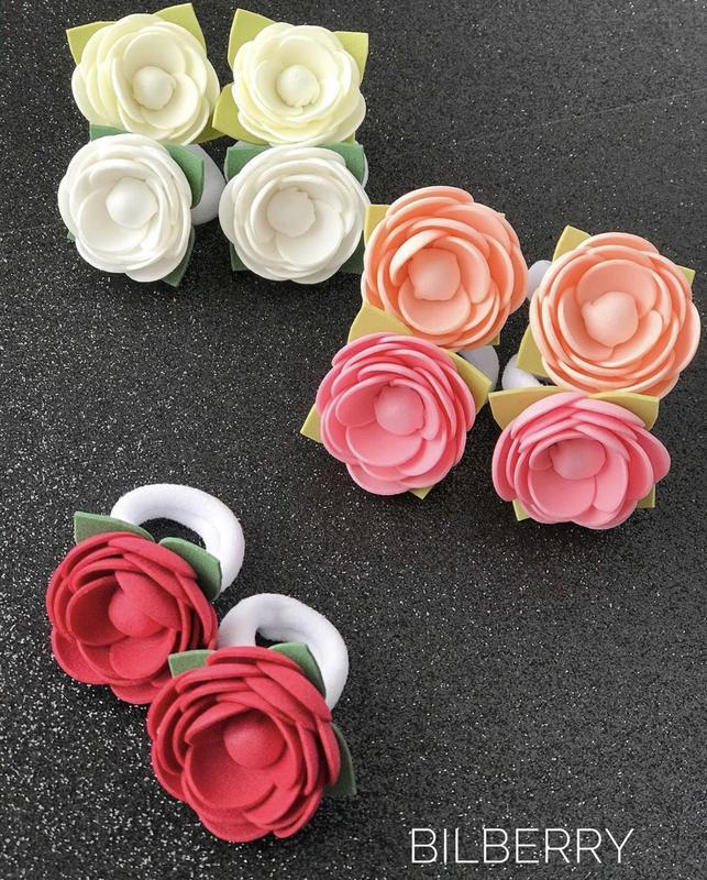 Mini квіточки для перших хвостиків