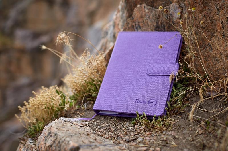 Ежедневник ПланЄ (фиолетовый)