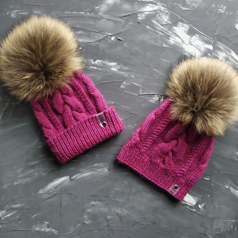 Зимова шапка, familylookна