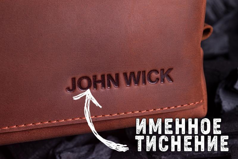 Кожаный мужской кошелек Бифолд, 10 цветов на выбор | 1_0037M_BEF