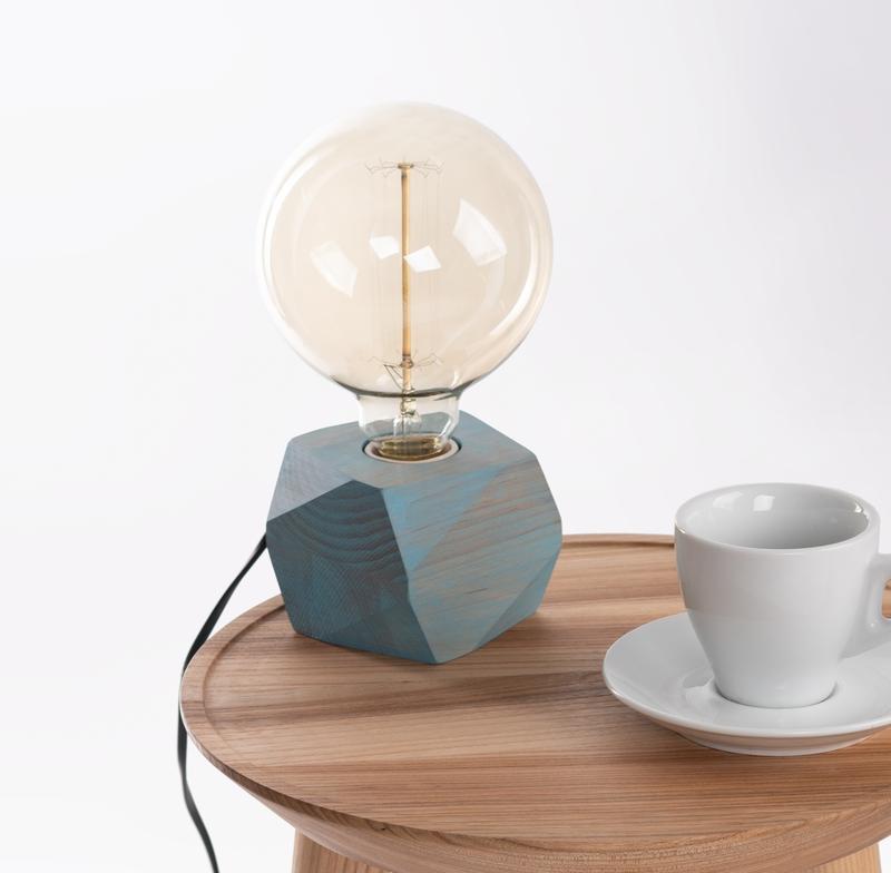 Ночник Настольный декоративный светильник с лампой Эдисона