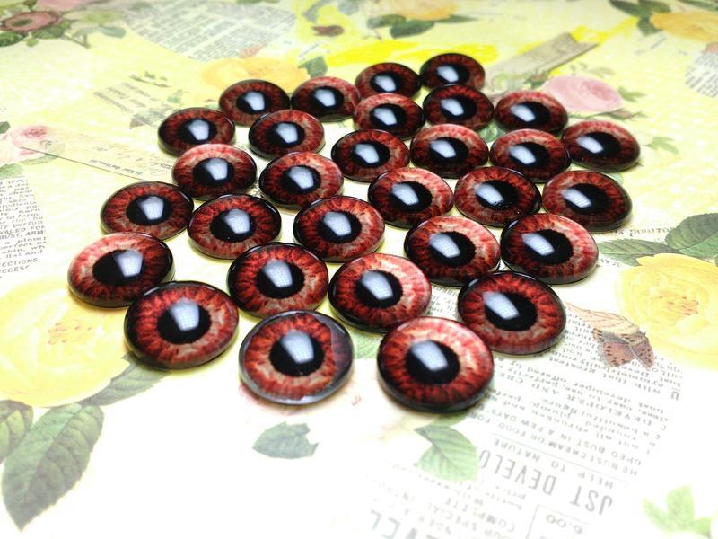Глаза кабошоны 16 мм №82