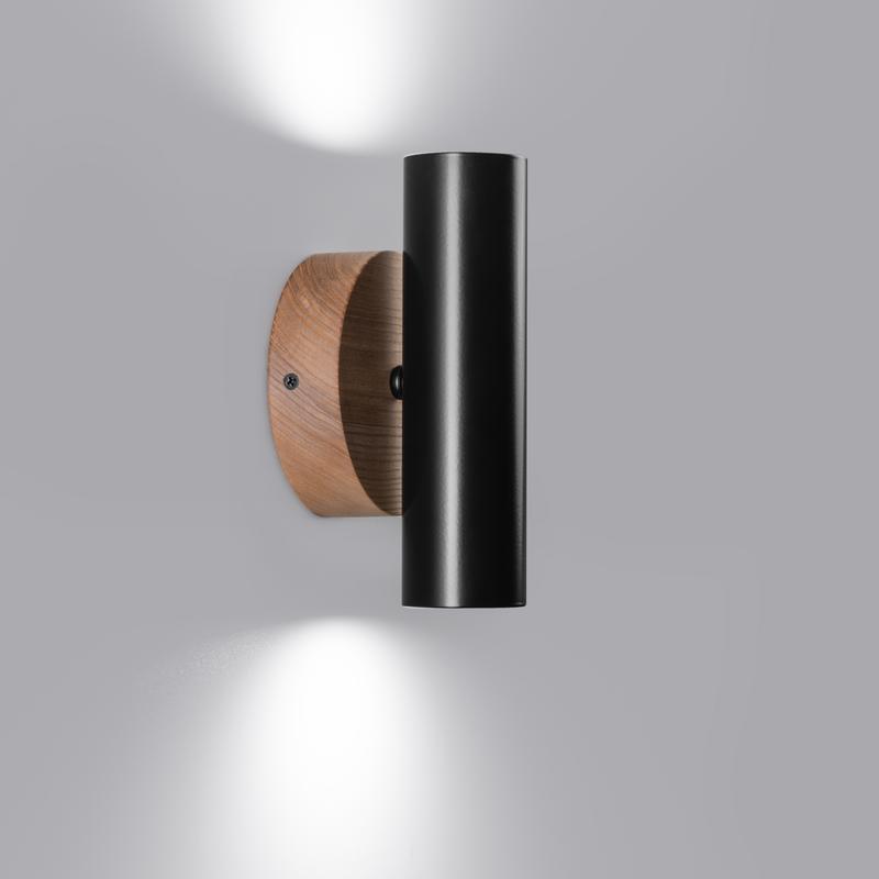 Настенный светильник бра двойной В стиле лофт, минимализм