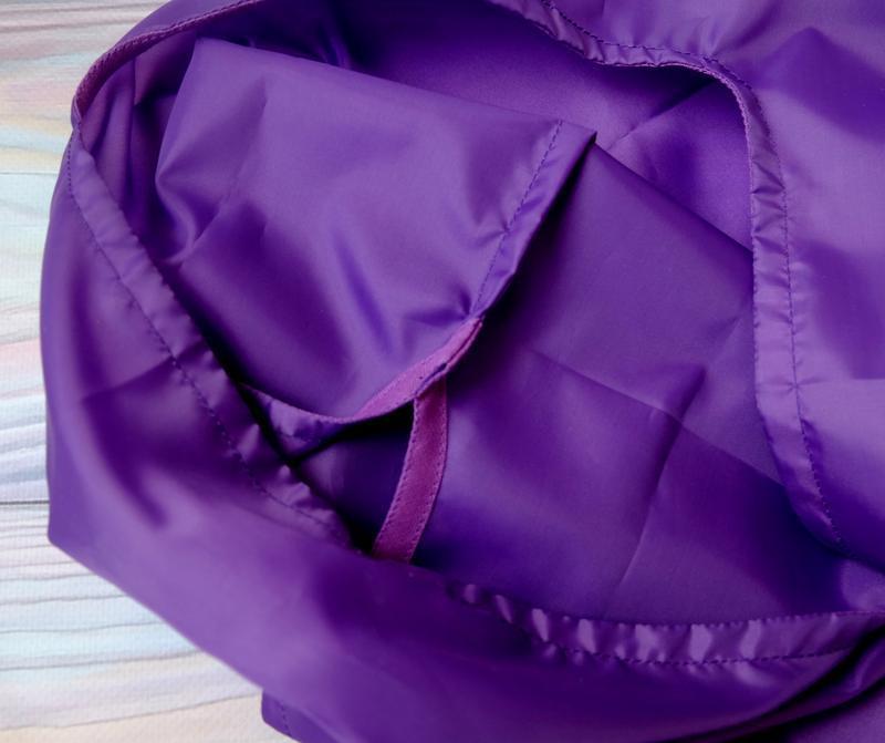 """Сумка-пакет """"Маечка"""" для покупок с чехлом, эко сумка, торба, сумка шоппер,фиолет"""