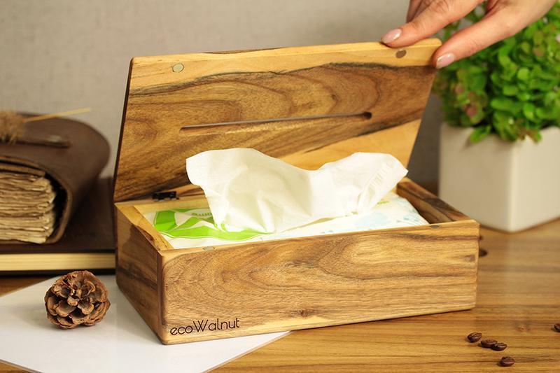 Деревянная Салфетница На Кухню Из Дерева Оригинальная Салфетница С Логотипом