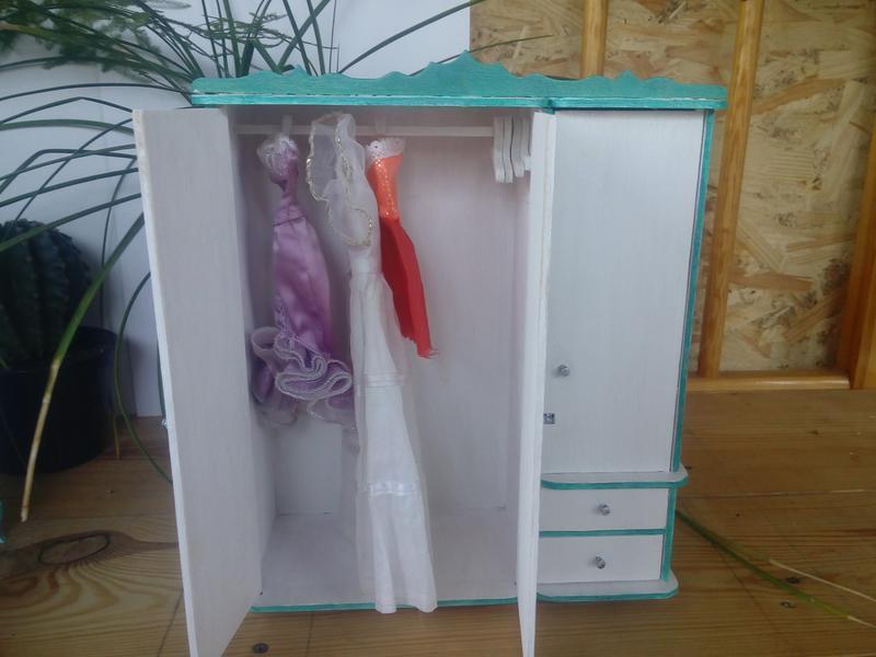шкаф для барби ручной работы купить в украине 68540