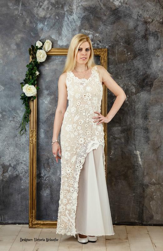 Весільна сукня ірландським мереживом